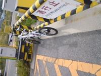 加古川サイクリングロードで自転車デビュー。10kmでダウン