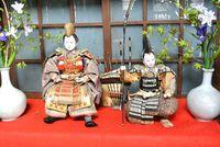 まきば日記 「まきば」の京武者人形