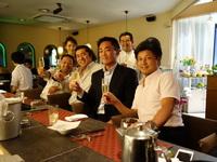 「加古川青年会議所第57代理事長予定者は大野恭平君です。」