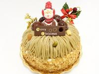 「クリスマスケーキの中でも人気のクリスマス・モンブラン」