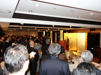 「(協)全日本洋菓工業会理事会及び新年会。」