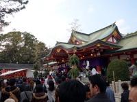 「十日戎に西宮神社へ行ってきました。」