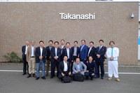 「タカナシ乳業さんの北海道工場に視察に行きました。」