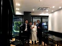 「日本製粉の山口さんと岡部さんに誕生日会をして頂きました。」