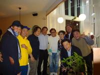 「親友の西村雅文君の誕生日パーティー。」