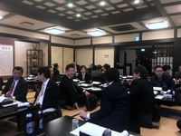 「加古川青年会議所OB会の春秋会。」