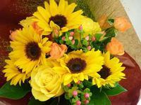 「夏の花と言えば向日葵。」