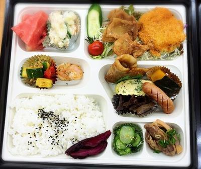 特別お弁当完成!
