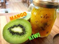 マンゴー&キウイのジャム