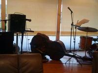 カフェでジャズを楽しむの巻