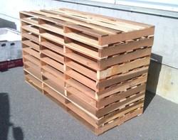 木製パレット・・・お喜びいただけたようです。