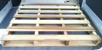 おはようございます…木製パレット、サンプル預かってきました。