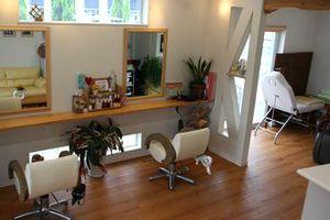 神戸市西区の美容室Niceの店内