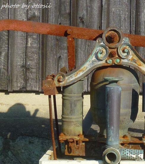 ポンプと圧力タンク