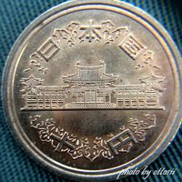 スマホの挑戦 十円硬貨