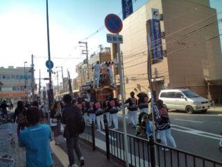 だんじり祭り☆