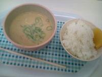 粕汁ごはん☆たいこ弁当