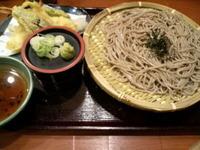 天ざる蕎麦☆神戸