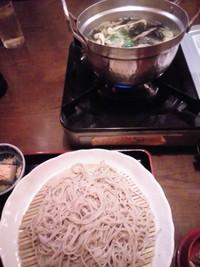 蕎麦しゃぶランチ☆川西池田