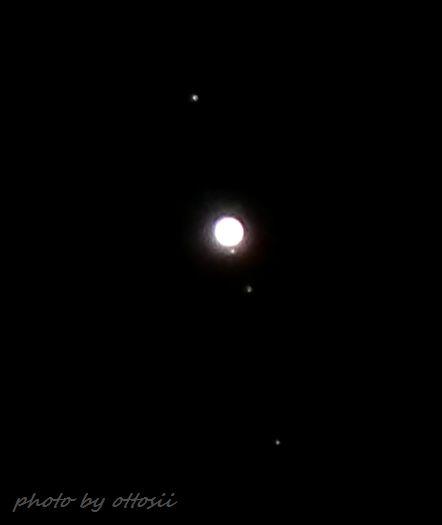 未明の木星