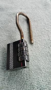 ダイヤル鍵