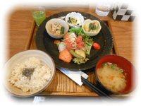 玄三庵 玄米&やさい食堂 (6/18:大阪)