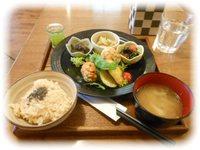 玄三庵 玄米&やさい食堂 (6/30:大阪)