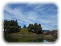 黒塚古墳の風景 2015.10