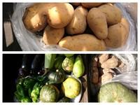野菜の加工と、調理時間