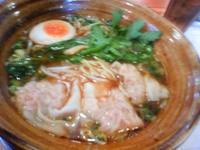 田舎風ワンタン麺☆