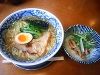 塩ラーメン & カモネギ御飯☆