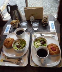 湖畔の森のお庭カフェ Prato Cafe(3/18:小野)
