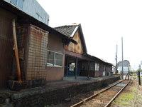 紀州鉄道 西御坊駅 (2011.8/7) ~廃線を訪ねて~