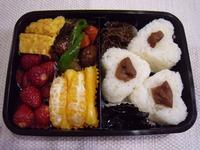 春休み 塾用お弁当 2012