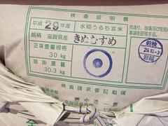 """今年もGood!!""""滋賀県長浜市産 新米 きぬむすめ""""本日(10/7)発売!!"""