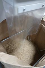 別府西米、脱穀そして籾摺り
