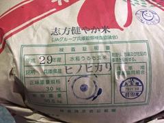 """地元のお米""""志方健やか米""""新米、本日(12/14)より発売!"""