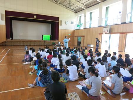 アウェイな気分の授業・・・~ごはんパワー教室in神戸市立出合小学校~