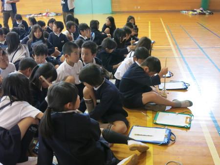 """10年目の""""ごはんパワー教室"""" in別府西小学校"""