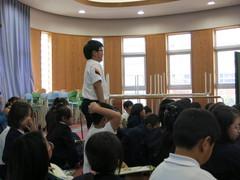 何度やっても、七転八倒!「ごはんパワー教室」in別府西小学校