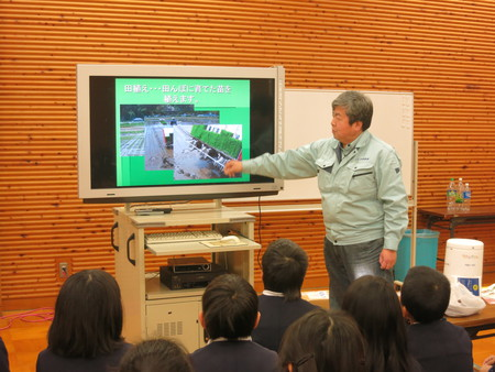 今年もなんとか終了! ごはんパワー教室in平荘小学校