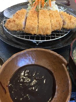 """""""味噌かつ""""が、オススメ! ~お食事処 ひえい~"""
