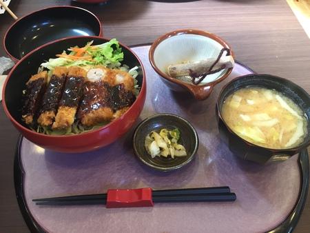 ロース味噌かつ丼 ~お食事処 ひえい~