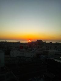 ★0379  キレイな夕日