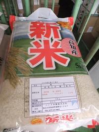 平成23年産新米一番手!「高知県産ナツヒカリ」販売中!