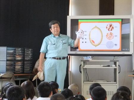 母校にて初開催!ごはんパワー教室in別府小学校