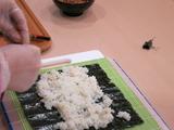 海苔のお勉強、巻き寿司試作
