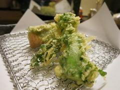 美味しい天ぷらに、ワインがGood!