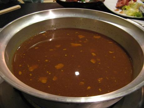 粋な料理とカレー鍋「伝心望」