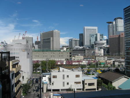 大阪、梅田ウォッチング